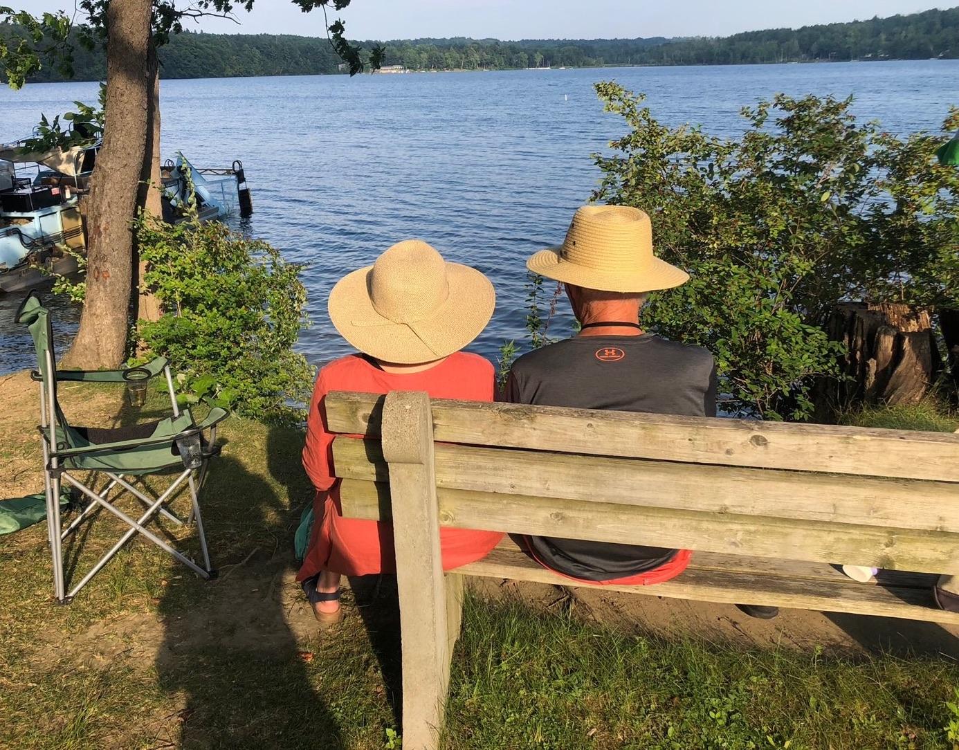 Lakeside Couple crop